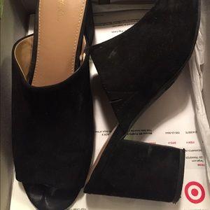 622fc1ec4a2 Merona Shoes - Didi Mule Pumps Merona Black